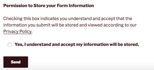 Contact Form 7 - Form View of Acceptance Checkbox with Link in long text label
