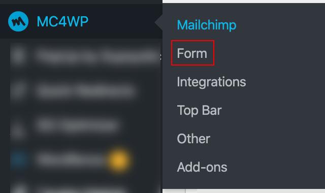 MC4WP Form