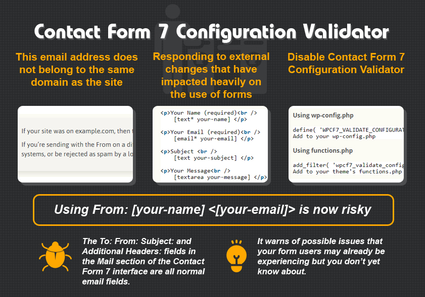 Contact Form 7 Configuration Validator - CF7 Skins Blog