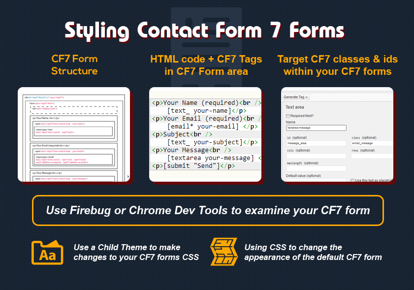 Styling Contact Form 7 Forms | Great looking Contact Form 7 forms
